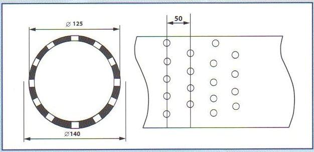 Фильтр для скважины на ПВХ трубе